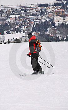 Skier Royalty Free Stock Images - Image: 13629209
