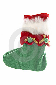Christmas Sock Royalty Free Stock Photo - Image: 13633735