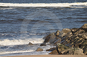 Breaking Waves Stock Image - Image: 13633801