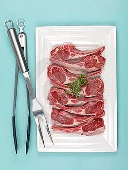 Lamb Chops Royalty Free Stock Photos - Image: 13634888