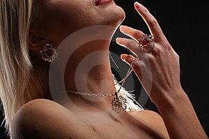 Ladies Face Royalty Free Stock Image - Image: 13635096