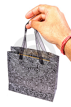 Shopping Bag Royalty Free Stock Images - Image: 13635239