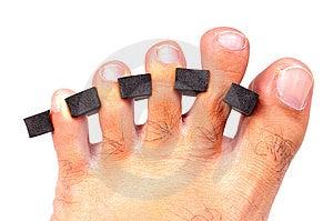 Finger Separator Stock Image - Image: 13636341