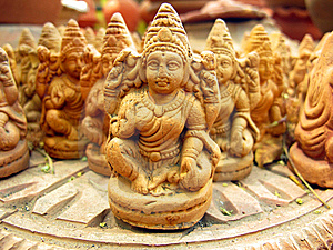 Terracotta Statues Royalty Free Stock Photos - Image: 13636488