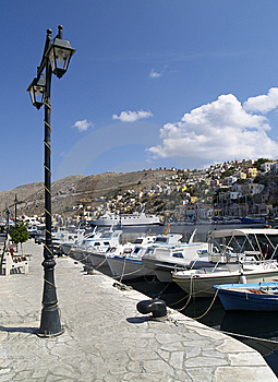 Embankment On The Symi Stock Photography - Image: 13640162
