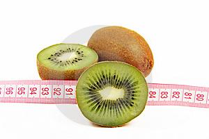 Kiwi Fruit Isolated On White Background Stock Photography - Image: 13641432