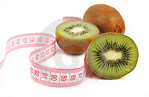 Kiwi Fruit Isolated On White Background Royalty Free Stock Image - Image: 13641446