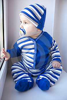The Baby Of 6-7 Months Stock Photos - Image: 13642253