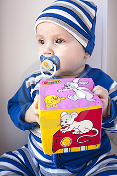 The Baby Of 6-7 Months Stock Photography - Image: 13642312