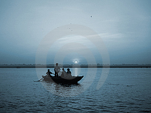 River Ganges Stock Images - Image: 13645324