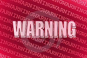 Warning Stock Photos - Image: 13645733