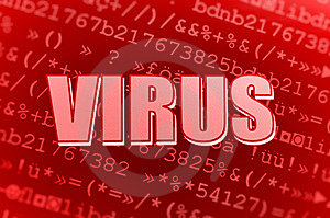 Computer Virus Royalty Free Stock Photos - Image: 13645748