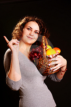 Woman And Fruits Stock Photo - Image: 13646490