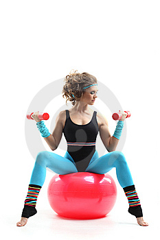 Fitness Instructor Royalty Free Stock Photography - Image: 13647277