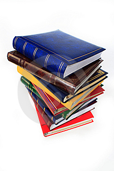 Pile Of Books Royalty Free Stock Image - Image: 13648126