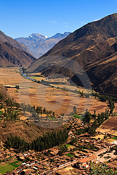 Sacred Valley Royalty Free Stock Photography - Image: 13649497