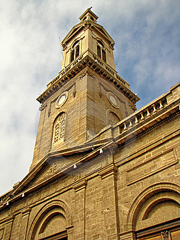 Church Perspective Royalty Free Stock Images - Image: 13650529