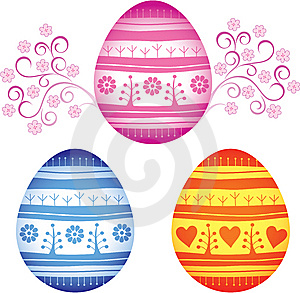 Easter Eggs Stock Photos - Image: 13651203
