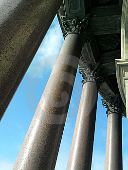 Colonnade Of St Isaac's Cathedral Stock Photos - Image: 13651793