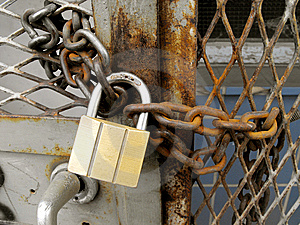 Padlocked. Stock Photography - Image: 13653102