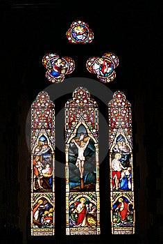 Church Window Stock Image - Image: 13653911