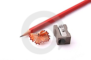 Pencil And Shapner Stock Images - Image: 13654924