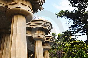 Park Guell In Barcelona, Spain Royalty Free Stock Photo - Image: 13659175