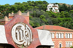 Park Guell In Barcelona, Spain Stock Image - Image: 13659261