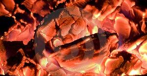 πυράκτωση ανθράκων καυτή Στοκ Εικόνα - εικόνα: 13660231