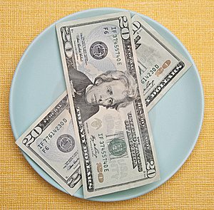 Cost Of Food Royalty Free Stock Images - Image: 13660239
