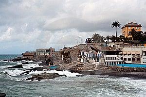 Italian Riviera Coast Stock Image - Image: 13661261