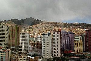 La Paz, Capital Of Bolivia Stock Images - Image: 13662654