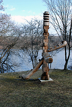 Wood Sculpture Royalty Free Stock Image - Image: 13664866