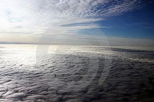 华美的云彩 库存图片