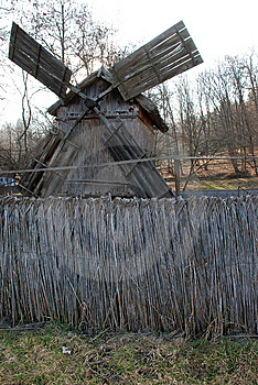 Old Windmill Stock Photography - Image: 13665352