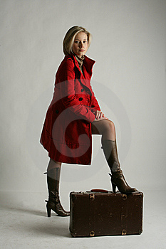 Portrait Of The Girl-blonde Stock Photos - Image: 13665743
