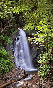 Falls In Mountains Royalty Free Stock Photo - Image: 13668185