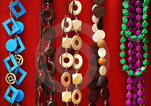 Necklaces Stock Photography - Image: 13668622