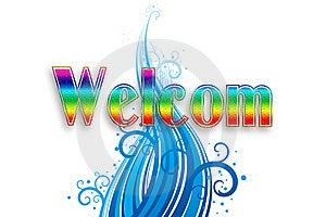 Welcom, Illustration Royalty Free Stock Image - Image: 13669326