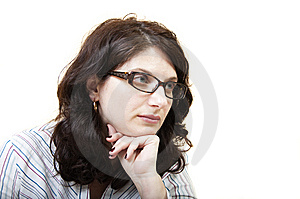 Sad Woman Stock Photo - Image: 13670050