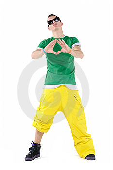 Male Dancer Stock Image - Image: 13671071