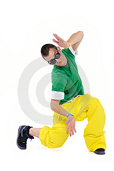 Male Breakdancer Stock Photography - Image: 13671252