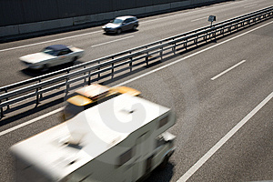 Fast-moving Vehicles Stock Photos - Image: 13672973