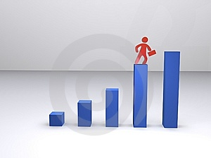 Stepwise Progress Royalty Free Stock Photography - Image: 13674027