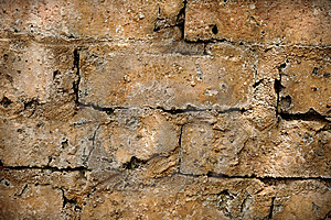 Rough Brick Wall Royalty Free Stock Photo - Image: 13675035