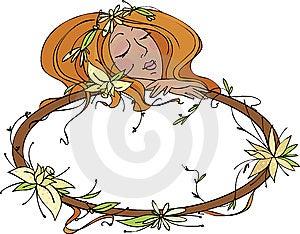 Floral Frame Stock Image - Image: 13680181