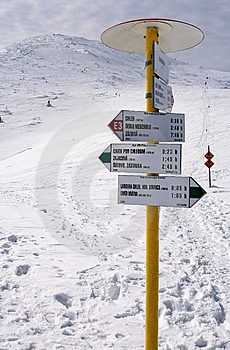 Guidepost Royalty Free Stock Photos - Image: 13681728