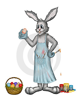 Easter Rabbit Stock Photos - Image: 13681953