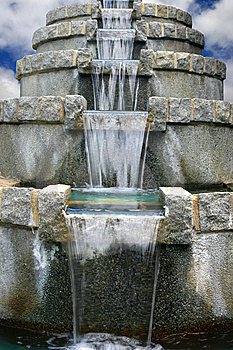 Water Cascade Stock Photography - Image: 13682342