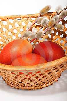 Painted Egg, Easter Still Life Stock Photos - Image: 13682733